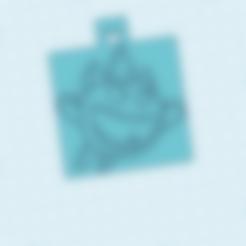 Frantic Wolt.stl Télécharger fichier STL gratuit llavero espíritu de hielo / clash royal / porte-clés esprit de glace • Objet pour impression 3D, claulopetegui