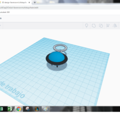 Download free 3D print files llavero ovni /alien/ufo keychain, claulopetegui