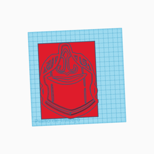 Download free STL file cortador de galleta dama roja fortnite  red knight cookie cutter • 3D printer object, claulopetegui