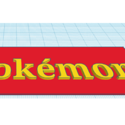 Llavero pokémon.png Download free STL file Llavero/POKÉMON/Keychain • 3D printer template, claulopetegui