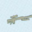Surprising Jarv.png Download free STL file fortnite barret llavero keychain sniper pesado heavy • 3D printing model, claulopetegui