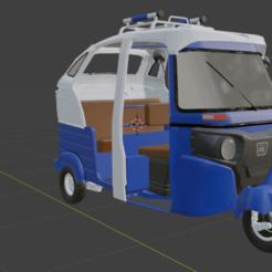 Download 3D printer model Autorickshaw mototaxi, iocorpusers