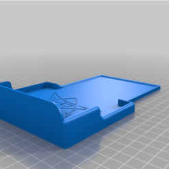 Download free STL file Dice Tray for Cthulhu Idol Dice Tower • 3D print object, DrkNite