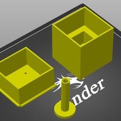 Télécharger fichier STL gratuit Un autre tableau de manque Ender 3 • Modèle à imprimer en 3D, DrkNite