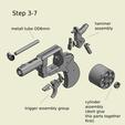 Télécharger plan imprimante 3D Le Bulldog britannique Webley M1872 pour les munitions du canon à bouchon, waltwil778
