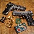 Descargar diseños 3D Pistola de goma de retroceso y eyección de proyectiles (Sig Sauer P226), waltwil778