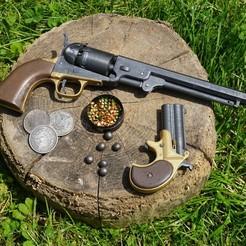BILD_10.jpg Télécharger fichier STL Canon à capuchon Colt Navy 1851 • Modèle imprimable en 3D, waltwil778