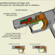 Download 3D printing models Blowback and shell ejecting rubber band gun (Sig Sauer P226), waltwil778