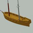 Download STL file Sail ship model / toy, waltwil778