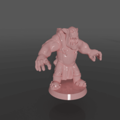 Download free STL file Ork rig with poses and parts in blend file • 3D print design, GRAYGAWR
