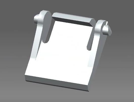 pied clavier ASUS.png Télécharger fichier STL gratuit pied clavier Asus • Design pour impression 3D, stephantoison2