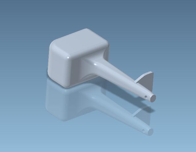 Unbenannt3.PNG Télécharger fichier STL gratuit Moteur hors-bord pour modèles réduits • Plan pour impression 3D, CHE_Scalemodels