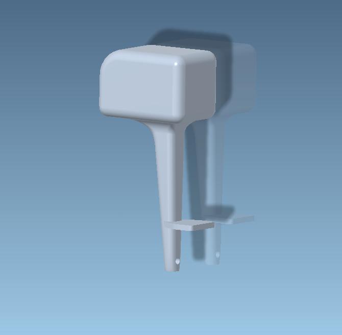 Unbenannt2.PNG Télécharger fichier STL gratuit Moteur hors-bord pour modèles réduits • Plan pour impression 3D, CHE_Scalemodels