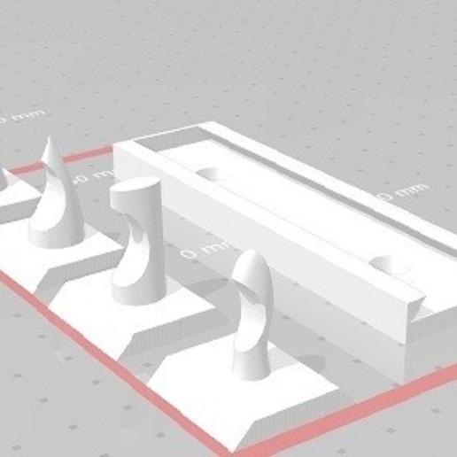 Download free 3D printer designs Hanger, Keys, rafanieto