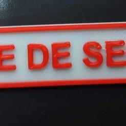 20201104_091615.jpg Download STL file Emergency center plate HO 1/87 • 3D printable design, Estafette27