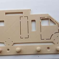 92741818_1598594160279368_1751730754162786304_n.jpg Download STL file Renault Trafic Rapido motorhome key holder • 3D printing template, Estafette27