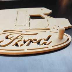 92547422_1597427610396023_8756761979453964288_o.jpg Download STL file Ford Motorhome Key Range • 3D print object, Estafette27