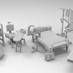 Furniture  (8).jpg Download STL file Wargame furniture • 3D printer object, Imperial_Prapor