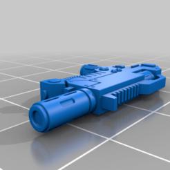 Download free 3D printer templates New Meltagun, Imperial_Prapor