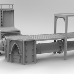 untitled.283.jpg Download STL file Modular pipeline terrain • Object to 3D print, Imperial_Prapor