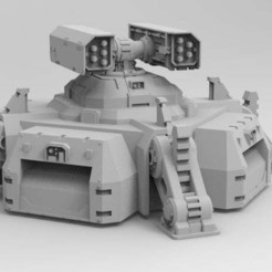 Download free 3D printing templates New Primaris Bunker, Imperial_Prapor