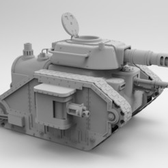 untitled.120.jpg Download STL file Steampunk Imperial tank • 3D print design, Imperial_Prapor