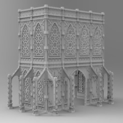 untitled.179.jpg Download STL file Temple of Evil God • 3D printer design, Imperial_Prapor