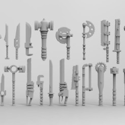 1.298.jpg Download STL file Post-apocalypse melee weapon • Template to 3D print, Imperial_Prapor