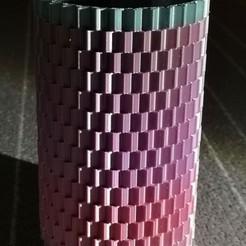 vase picture.jpg Download STL file Cube Pattern Vase • 3D print model, jimmysmenos