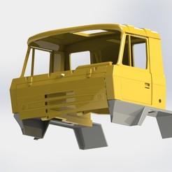 Descargar STL Tatra 815 cabina corta, llakomy
