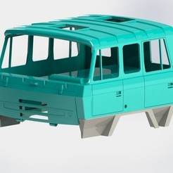 Download 3D printer designs Tatra 815 cabin long, llakomy