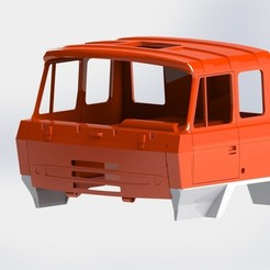 Download 3D printer files Tatra 815 cabin middle, llakomy