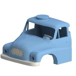 Download 3D printing models Tatra 138 cabine, llakomy