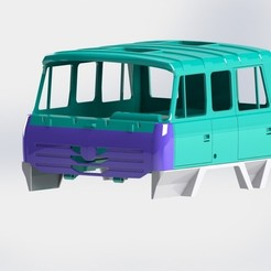 Download 3D printing files Tatra Terrno v2 hood, llakomy