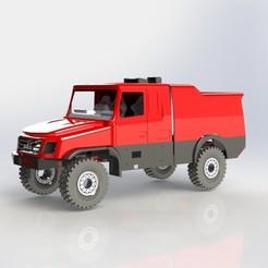 Descargar modelos 3D para imprimir Maz 6440RR Dakar 2020 MA3, llakomy