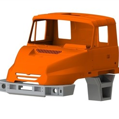 Download 3D printer designs Tatra 163 jamal cabine, llakomy