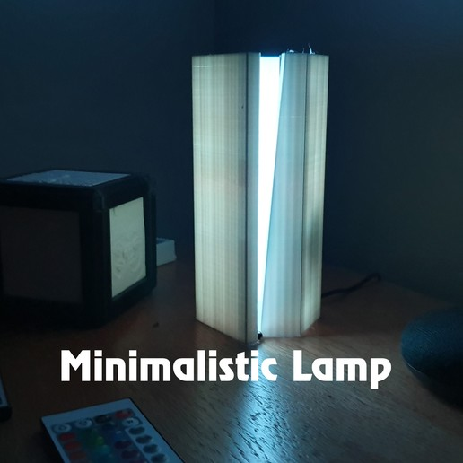 lamp.jpg Download free STL file Minimalistic lamp • Design to 3D print, charlielaw11
