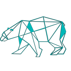 Capture 2.PNG Download STL file POLAR BEAR WALL SCULPTURE 2D • 3D print design, DajouxTom