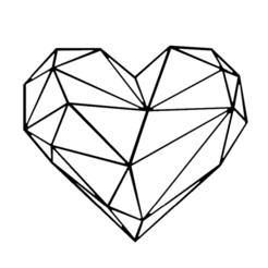 Capture 1.PNG Download STL file 2D HEART MURAL SCULPTURE • 3D printing model, DajouxTom