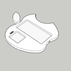 Télécharger fichier STL Socle apple, DajouxTom