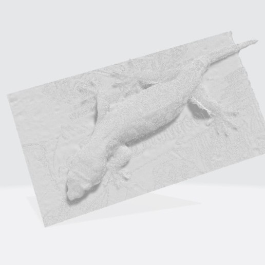 Download free OBJ file Gecko (Rhacodactylus Leachianus) • 3D printer model, Graf22