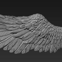 wing.jpg Download OBJ file angel wing • 3D printable design, sawang007