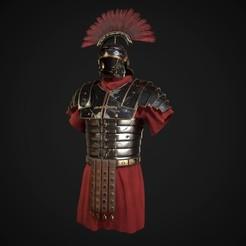screenshot000.jpg Télécharger fichier OBJ Armure romaine lorica segmentata • Plan imprimable en 3D, sawang007