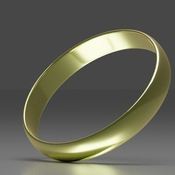 Download 3D printing files Simple Classic Gold Ring, jodelida2
