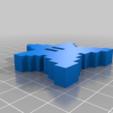 Télécharger fichier STL gratuit Super Mario Pixel Star - bouton • Design à imprimer en 3D, vsky279