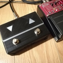 Download free 3D model Pedal switch (looper, guitar), vsky279