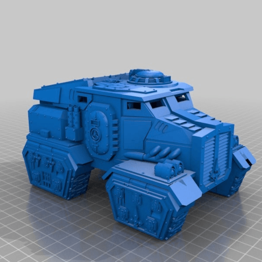 Download free STL file Imperial Transport • Model to 3D print, MKojiro