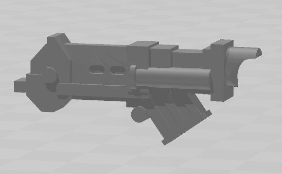 RTHB.jpg Download STL file Rogue Trader Era Heavy Bolter • 3D printing object, MKojiro
