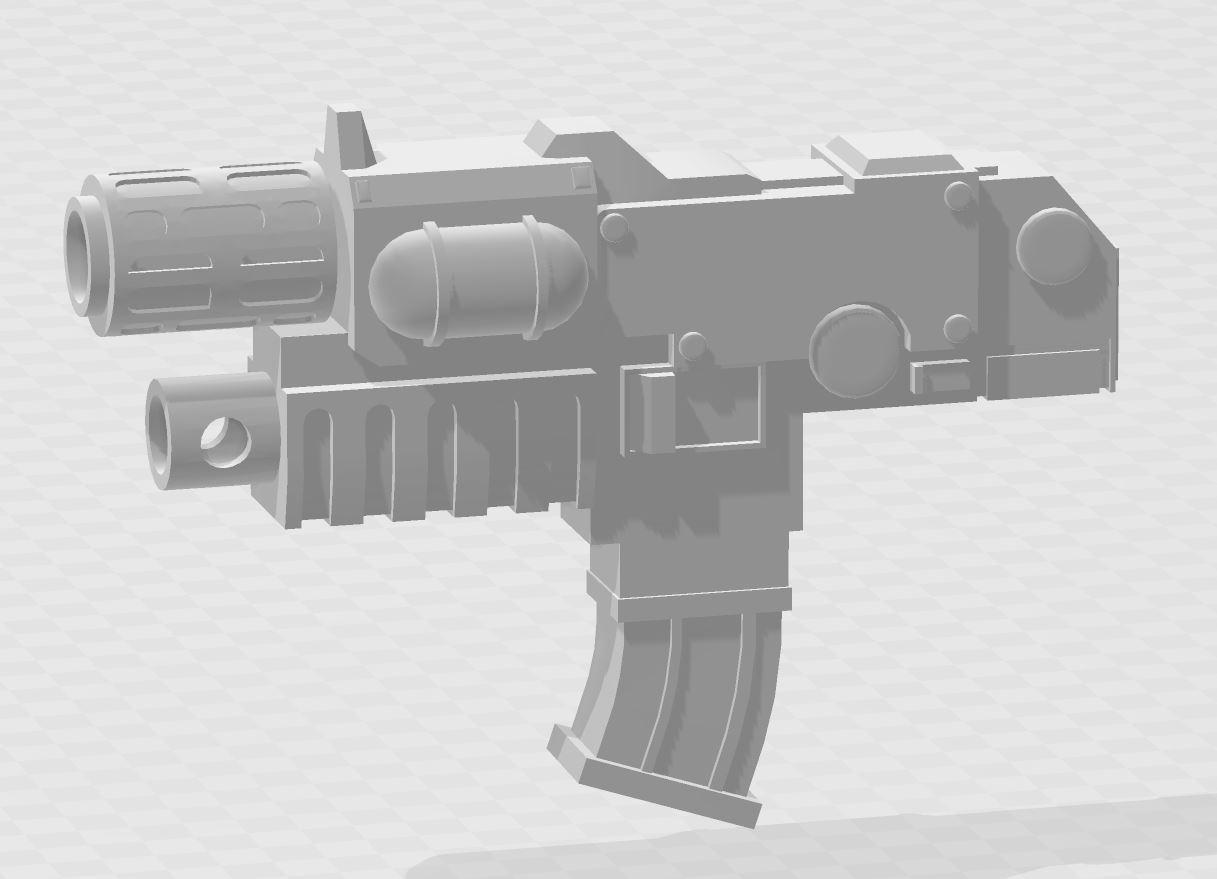 CombiMelta2.JPG Download free STL file Combi Melta Guns • 3D printer design, MKojiro