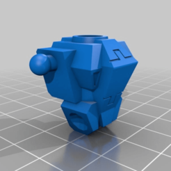 Download free 3D printing models Tau Battlesuit Torso, MKojiro